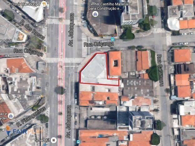 terreno posto gasolina comercial jabaquara venda locação 500m - te0021