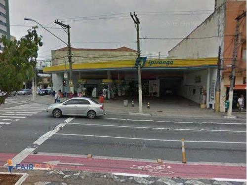 terreno posto gasolina comercial saude venda locação 500m - te0021
