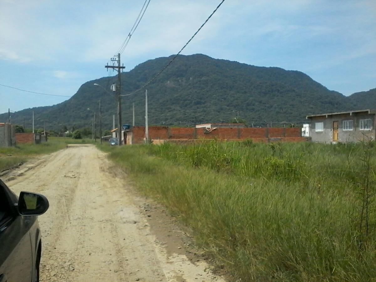 terreno pra construir  em peruíbe entrada de r$ 6 mil