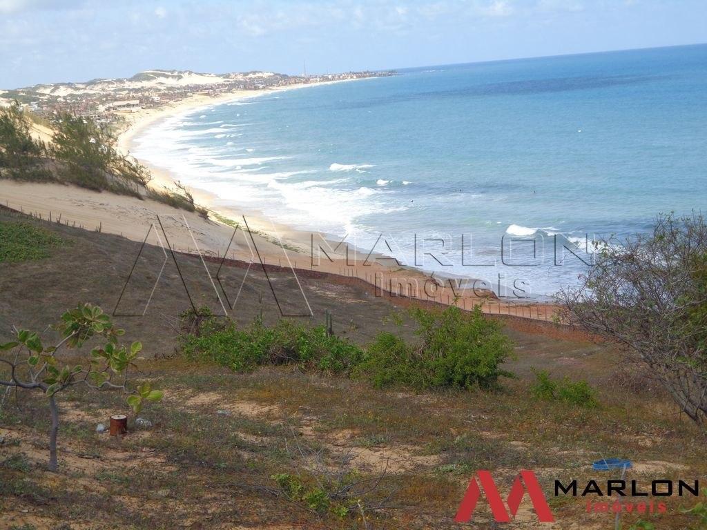 terreno praia de tabatinga com visão p/ o mar
