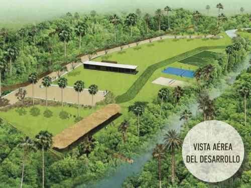 terreno pre venta - hacienda el manantial - carretara palma sola - veracruz