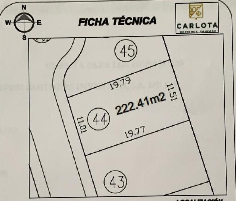 terreno premium en venta en carlota hacienda vanegas en corregidora