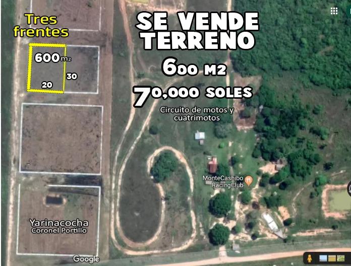 terreno pucallpa 600 m2 yarinacocha