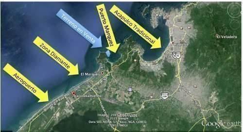 terreno  punta diamante para proyecto alto nivel con playa