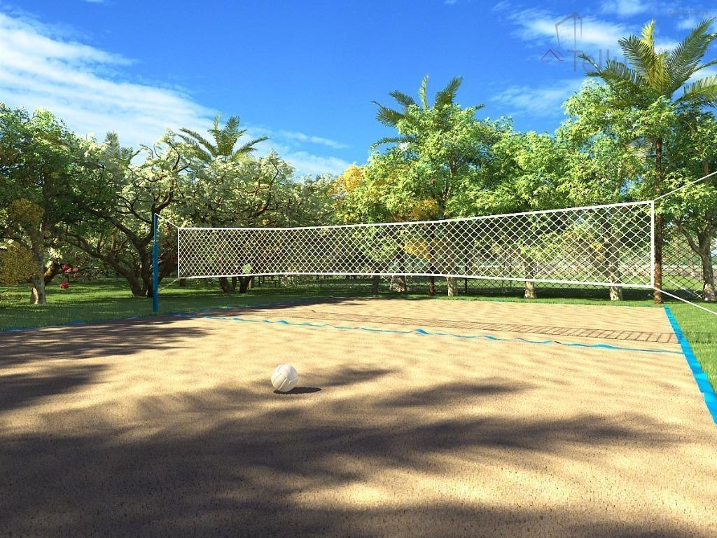 terreno quadra b7 à venda, 257 m² por r$ 215.000 - condomínio ibiti reserva - sorocaba/sp - te0204