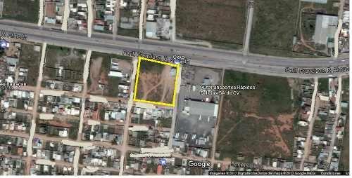 terreno renta para gasolinera per. r. almada $25.00 jesflo gl3