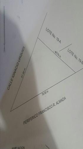terreno renta periferico r. almada 10,000 ceccam gl3