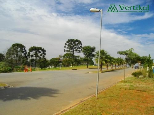 terreno residencial a venda, condominio vintage - granja viana - v-2423