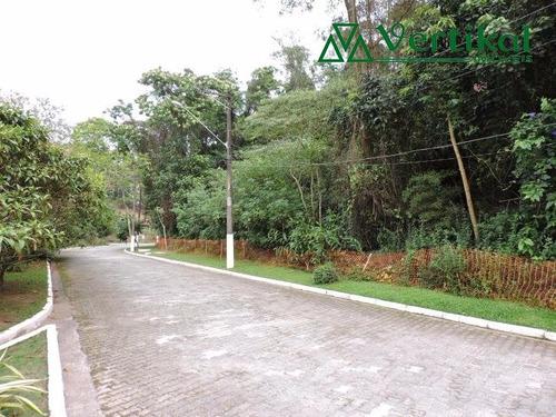 terreno residencial a venda, forest hills, granja viana - v-2946