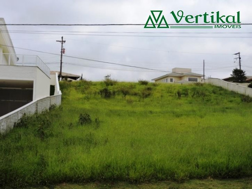 terreno residencial a venda, jardim passargada, granja viana - v-1640