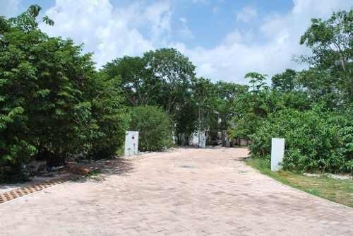 terreno residencial bosques de bambú, playa del carmen p2514