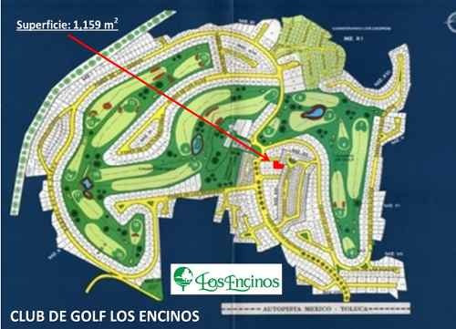 terreno residencial club de golf los encinos
