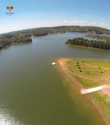 terreno residencial com vaga náutica à venda, piratuba, ibiúna/sp. - codigo: te0012 - te0012