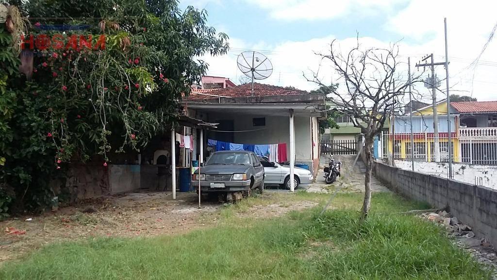 terreno residencial / comercial à venda, região central, caieiras. - te0179