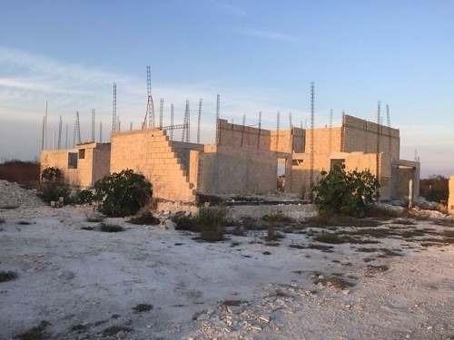 terreno residencial con proyecto arquitectónico en dzitya