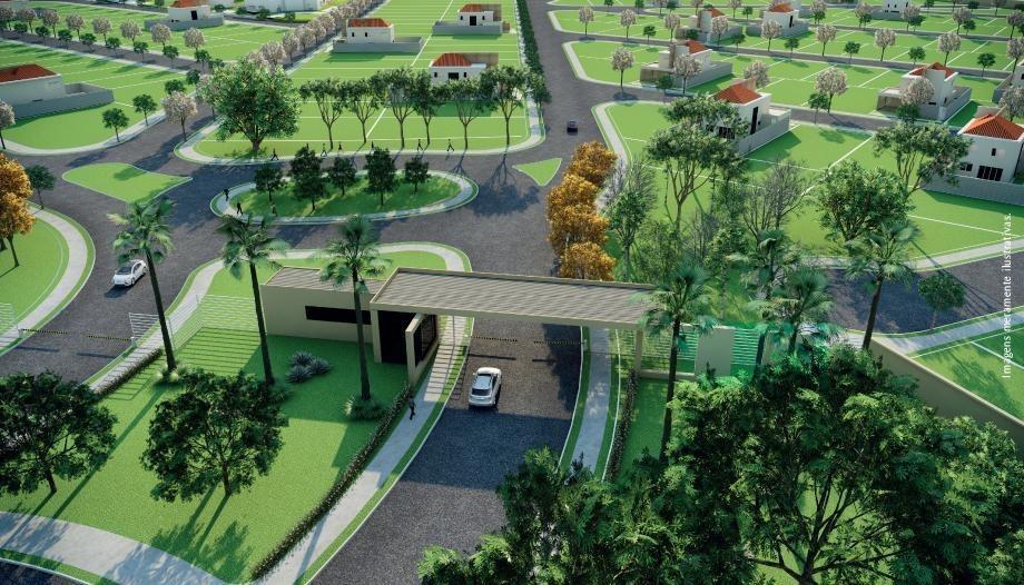 terreno residencial condomínio portal da mata à venda, quinta do bosque, ribeirão preto. - te0042