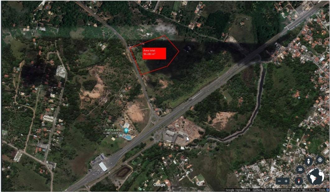 terreno residencial em camaçari - te00164 - 33641409