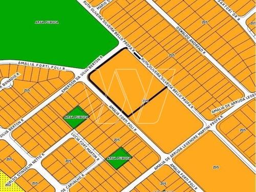 terreno residencial em campinas - sp, jardim do lago continuação - te00433