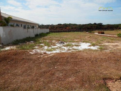 terreno residencial em condomínio fechado, à venda. - te0051