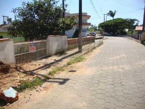 terreno residencial em penha - sc, centro - 145d