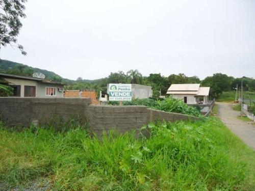 terreno residencial em penha - sc, praia de armação - 180n