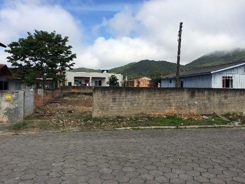 terreno residencial em penha - sc, vila olaria - 100v