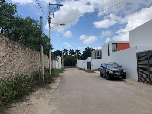 terreno residencial en cholul