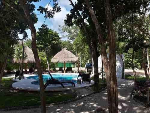 terreno residencial en puerto morelos cerca de la playa.