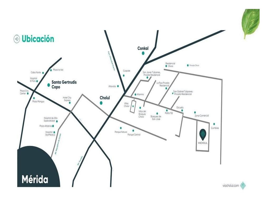 terreno residencial en venta, a min de altabrisa,cholul,mérida,yucatán