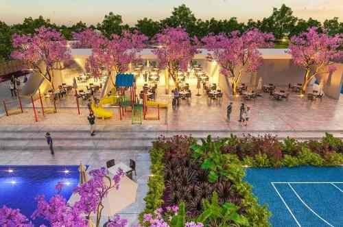 terreno residencial en venta con servicios en privada en blanca mérida
