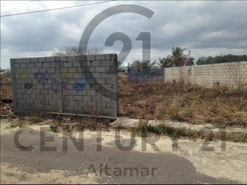 terreno residencial en venta, fracc. recreativo, cd. madero, tamaulipas.