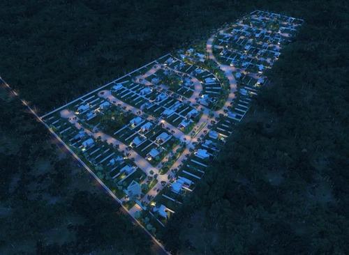 terreno residencial en venta.privada piaró, a min de the harbor,mérida,yucatán