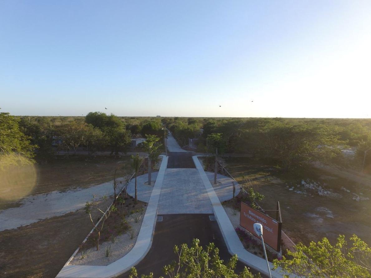 terreno  residencial kikteil  a 10 min de progreso, yucatán. blanca