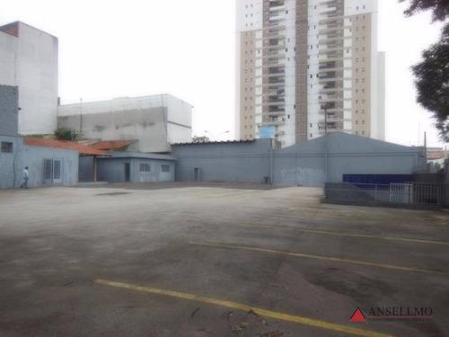 terreno residencial para locação, centro, são bernardo do campo - te0058. - te0058