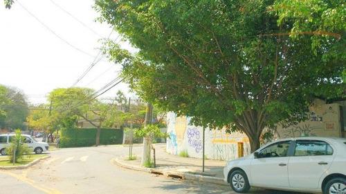 terreno residencial para locação, vila ipojuca, são paulo. - te0182