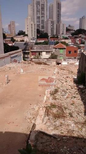 terreno residencial para venda e locação, aclimação, são paulo - te0018. - te0018