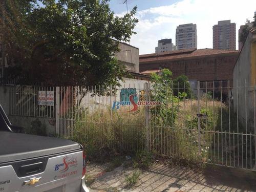terreno residencial para venda e locação, jardim anália franco, são paulo. - te0147