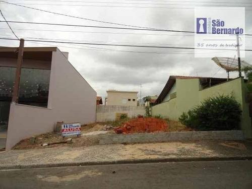 terreno residencial para venda e locação, paralelo av. brasil, americana - te0004. - te0004