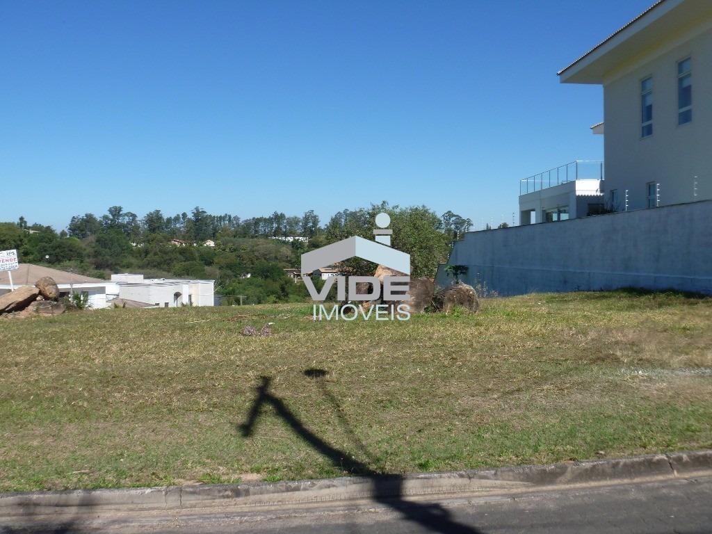 terreno residencial para venda em condomínio fechado de sousas, campinas. - te00805 - 3548336