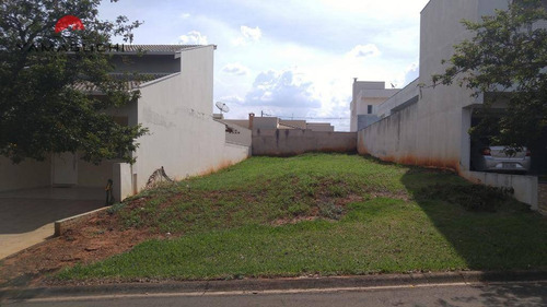 terreno residencial à venda, 300 m², condomínio residencial raizes, paulínia. - codigo: te0024 - te0024