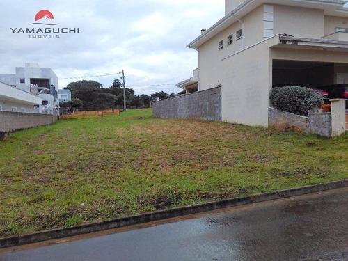 terreno residencial à venda, 360 m², no condomínio vila franca, paulínia. - codigo: te0065 - te0065