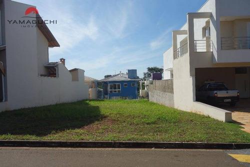 terreno residencial à venda, 372 m², condomínio figueira branca, paulínia. - codigo: te0061 - te0061