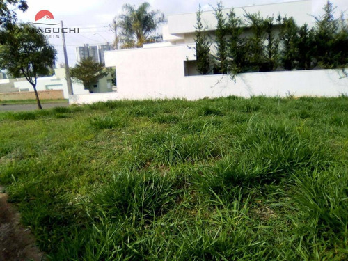 terreno residencial à venda, 390 m², condomínio metropolitan park, paulínia. - codigo: te0052 - te0052
