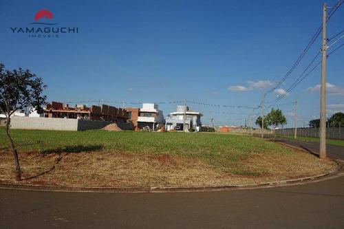 terreno residencial à venda, 412 m2, condomínio terras do cancioneiro, paulínia. - codigo: te0045 - te0045