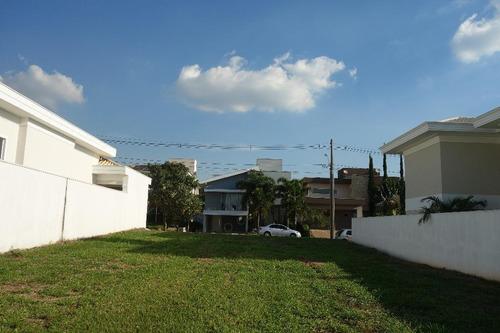 terreno residencial à venda, 450 m², condomínio villa lobos, paulínia. - codigo: te0049 - te0049