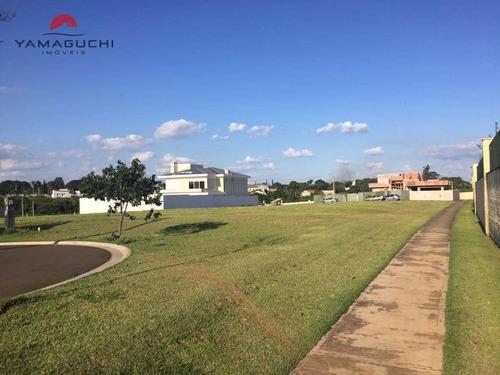 terreno residencial à venda, 624,42 m², condomínio villa bella florença, paulínia. - codigo: te0047 - te0047