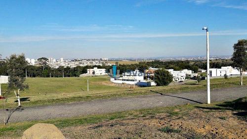 terreno residencial à venda, 852m² alto padrão reserva do paratehy, urbanova, são josé dos campos-sp. - te0067
