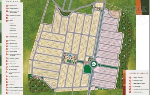 terreno residencial à venda, agricola santa clara, monte mor. - te0065
