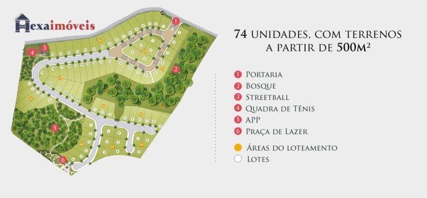 terreno  residencial à venda, aldeia da serra, quintas do ingaí, santana de parnaíba. - te0063