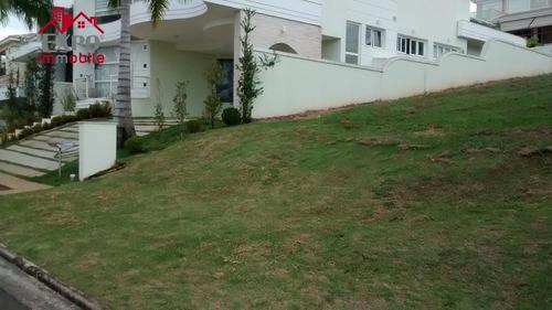 terreno  residencial à venda, alphaville dom pedro, campinas. - te0015